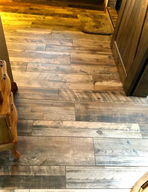 Simek Tile floor