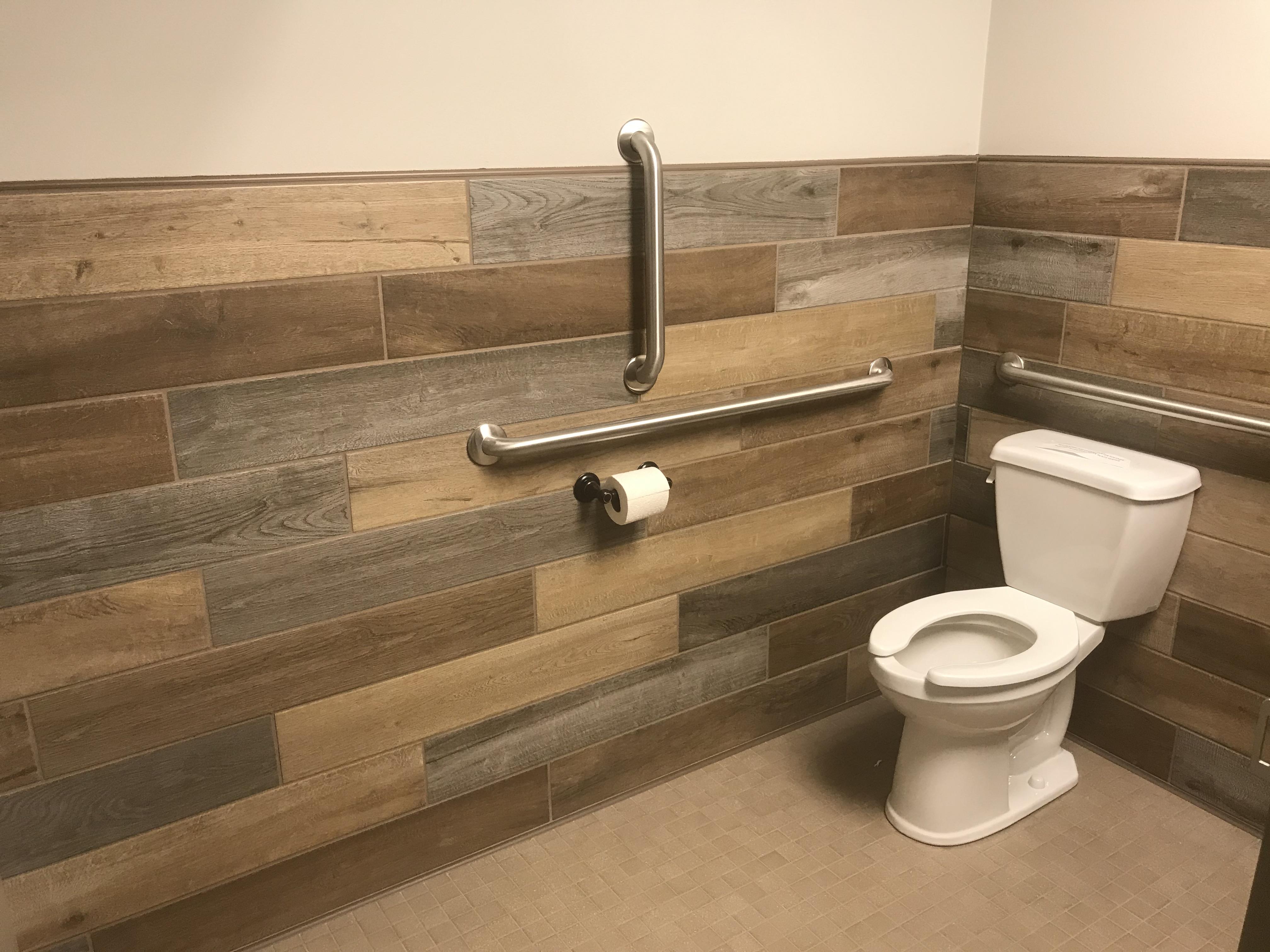 Holton town hall bathrooms 3