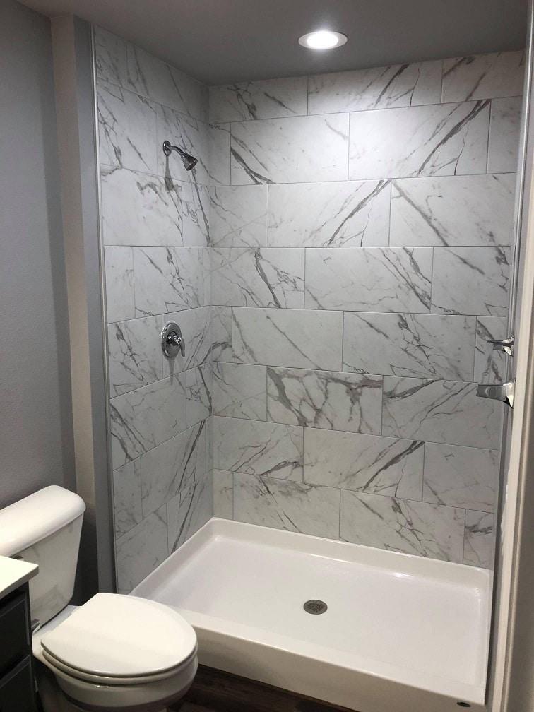 Wausau home shower 2