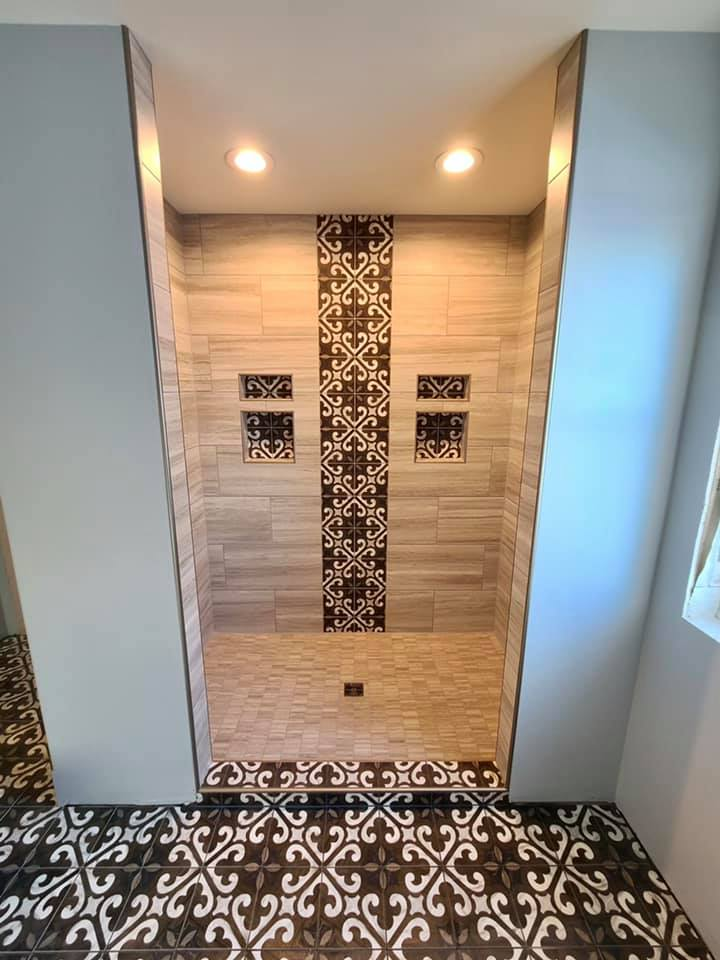 Wausau home shower 3